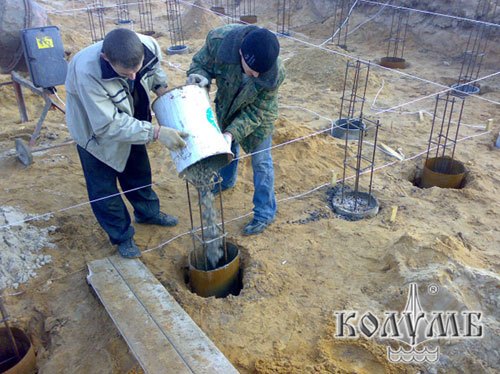Проектирование, расчет, строительство буронабивных фундаментов