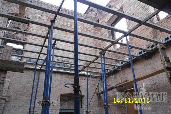 Использование сборно-монолитных перекрытий МАРКО при реконструкции зданий
