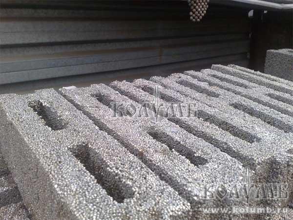 Блок стеновой из полистиролбетона