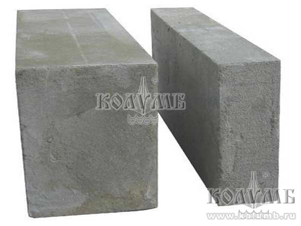 Стеновой и перегородочный блоки из полистиролбетона